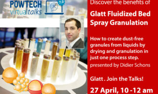 'Creating dustfree granules by drying + Granulating liquids' image