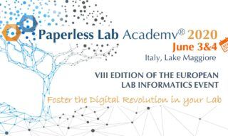 'Paperless lab academy® 2020 Save the new date' image