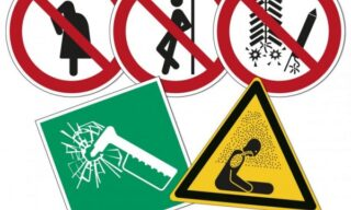 '5 new ISO 7010 safety signs on durable materials' image