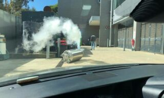 'First hand experience of the dangers of liquid nitrogen' image