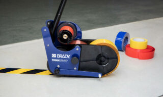 'Easily draw straight lines of floor tape' image