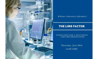 'Free Webinar: The LIMS Factor - Guidelines for a successful implementation' image