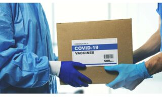 'COVID-19 vaccines benefit from temperature monitoring' image