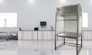 'Particle-free, sterile cleanroom workbench' image