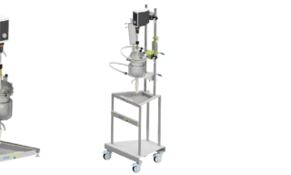 'New universal glass lab reactor: short lead times and low cost' image