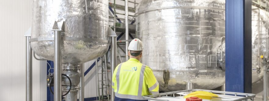 PolyStyreneLoop chooses Gpi stainless steel tanks to recycle PS insulation foam waste image