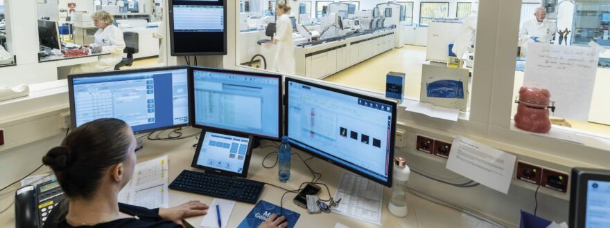 Total Lab Automation a reality in LUMC image